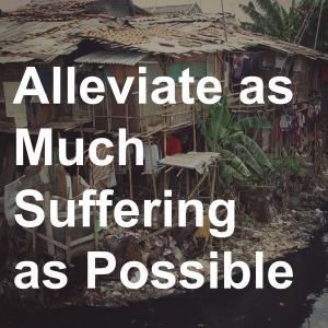 16 Alleviate Suffering